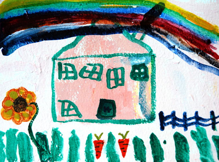 Katy's house painting