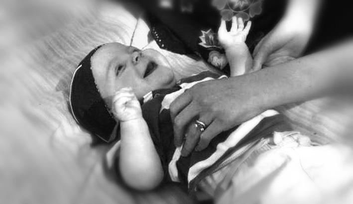 Tickle Baby_B&W