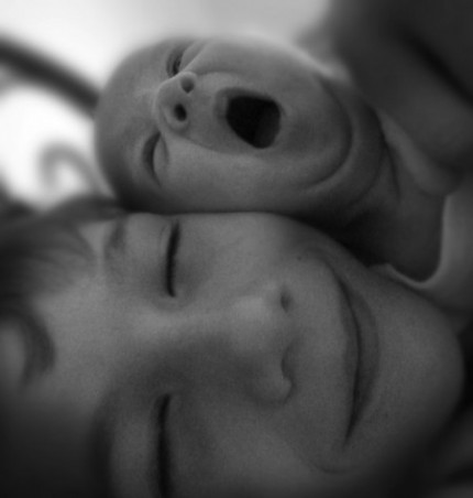 Brother and Sister_B&W