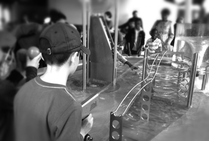 Science Museum Games–B&W