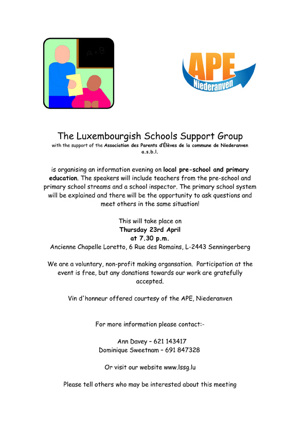 Luxembourgish Schools Support Group